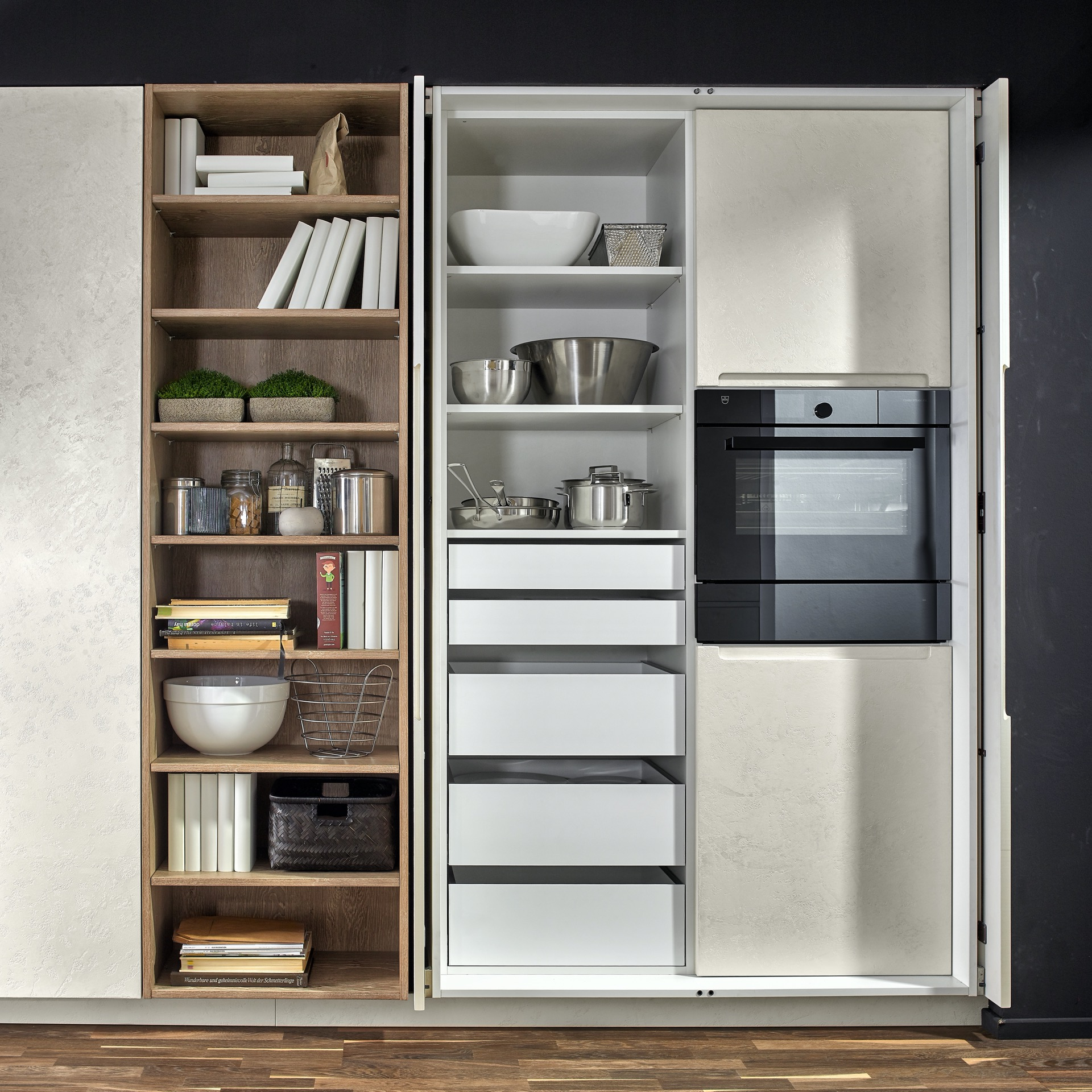Pocket Doors Pantry
